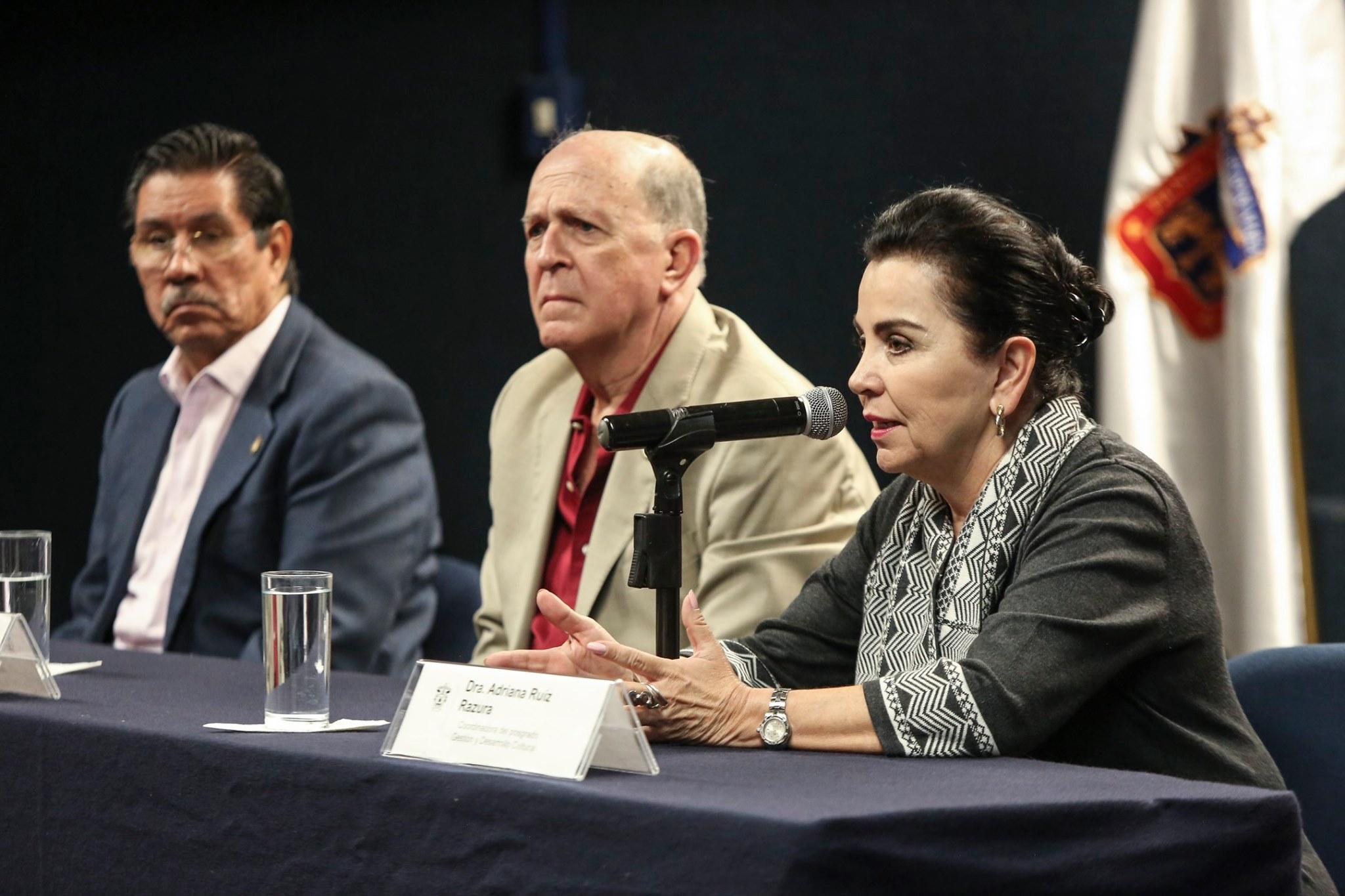 Adriana Ruiz Razura, Coordinadora de la MDGC del CUAAD