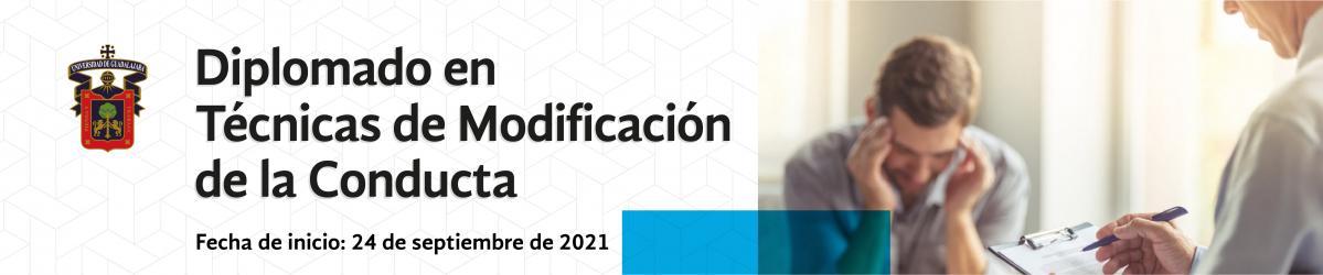 Diplomado en Técnicas de Modificación de la Conducta - septiembre 2021 -