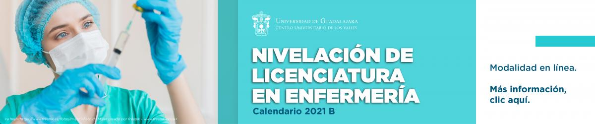 Nivelación de Licenciatura en Enfermería - Calendario 2021 B -