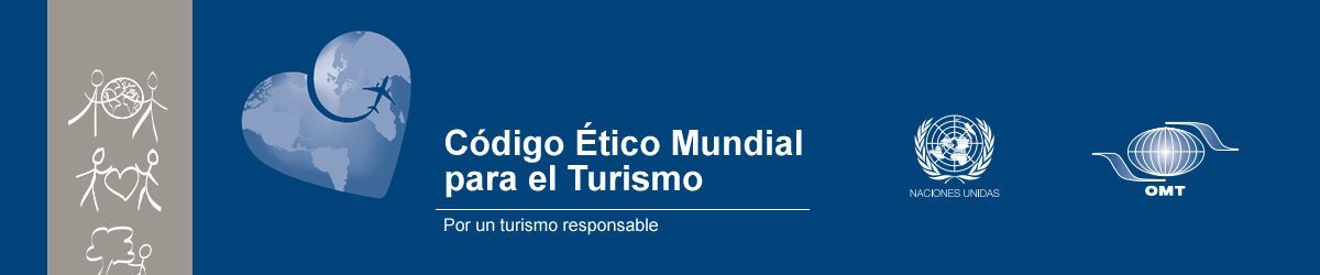 Banner Código Ético Mundial para el Turismo