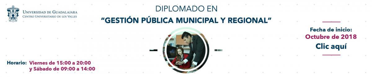 Banner Diplomado en Gestión Pública Municipal y Regional