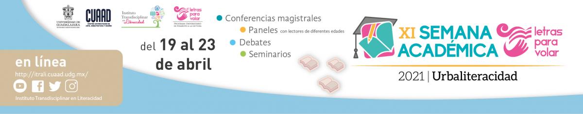 "XI Semana Académica 2021 ""Urbaliteracidad"""