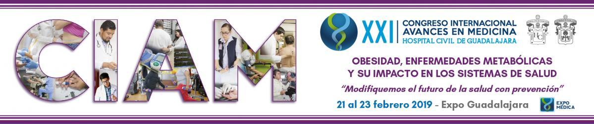 XXI Congreso Internacional Avances en Medicina 2018.