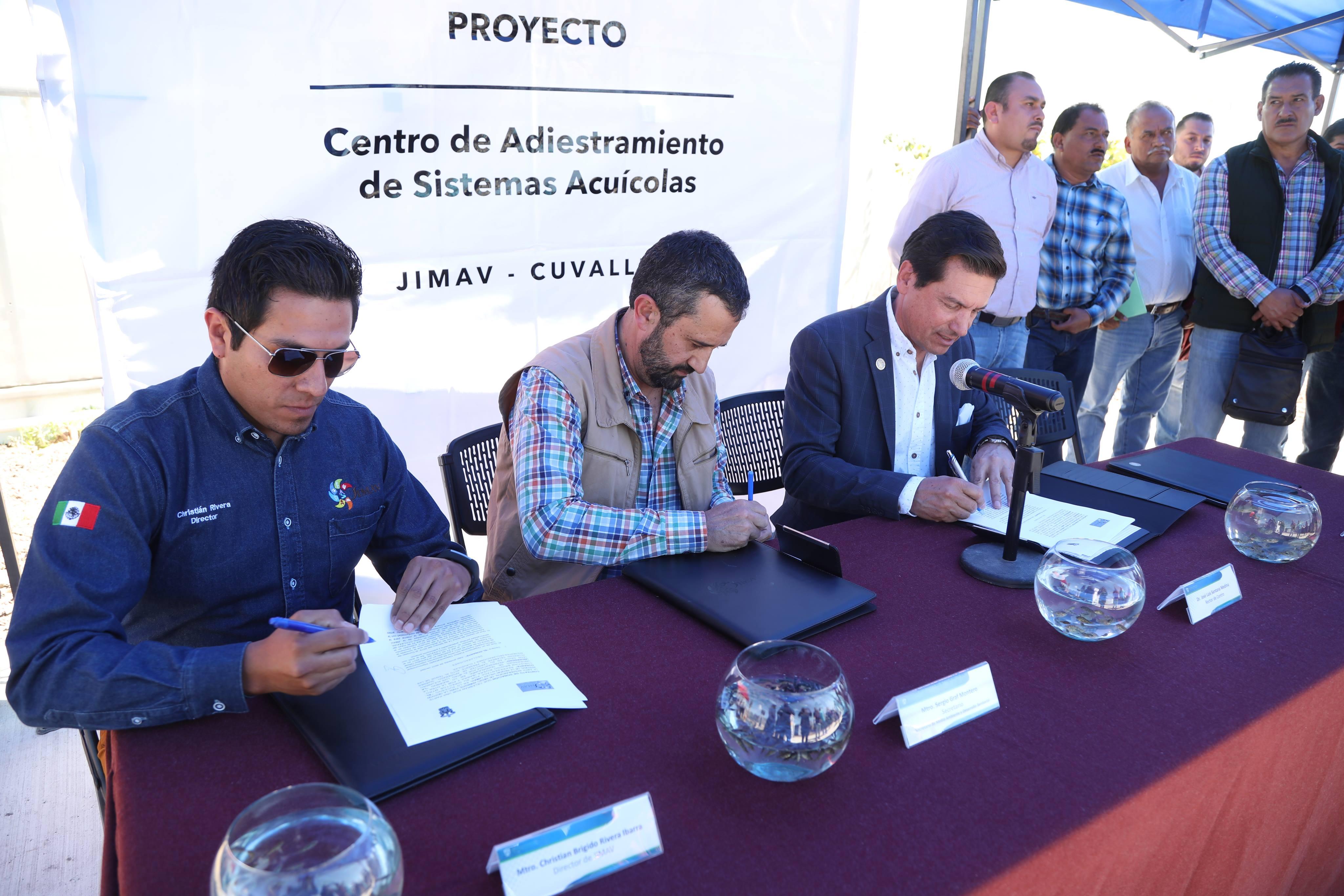Firma de Convenio de donación CASA