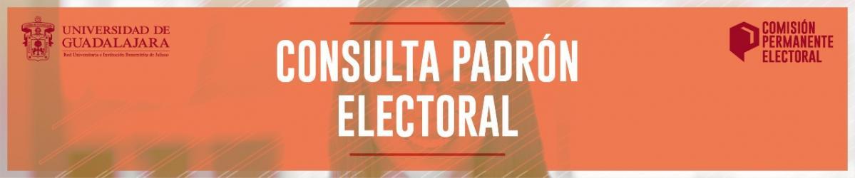 Consulta el padrón electoral 2021 - 2022