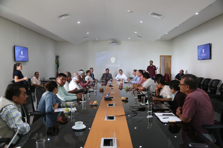 Reunión entre la Unión Nacional de Cañeros y CUValles