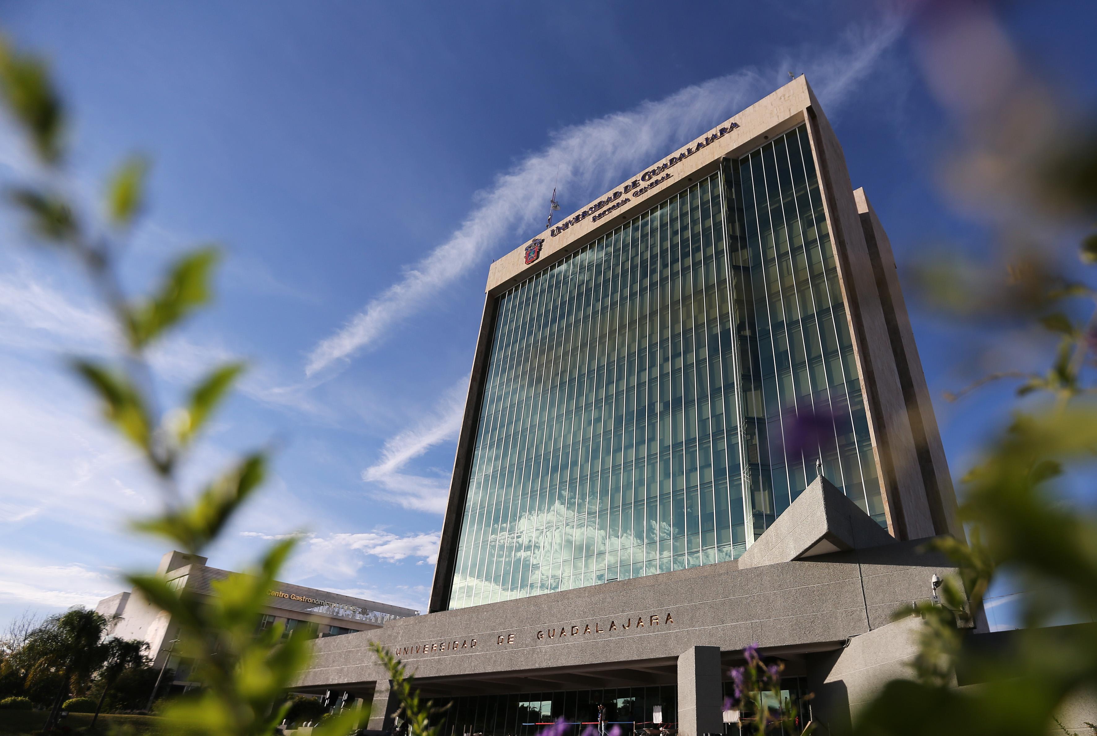 Edificio administrativo de la Universidad de Guadalajara