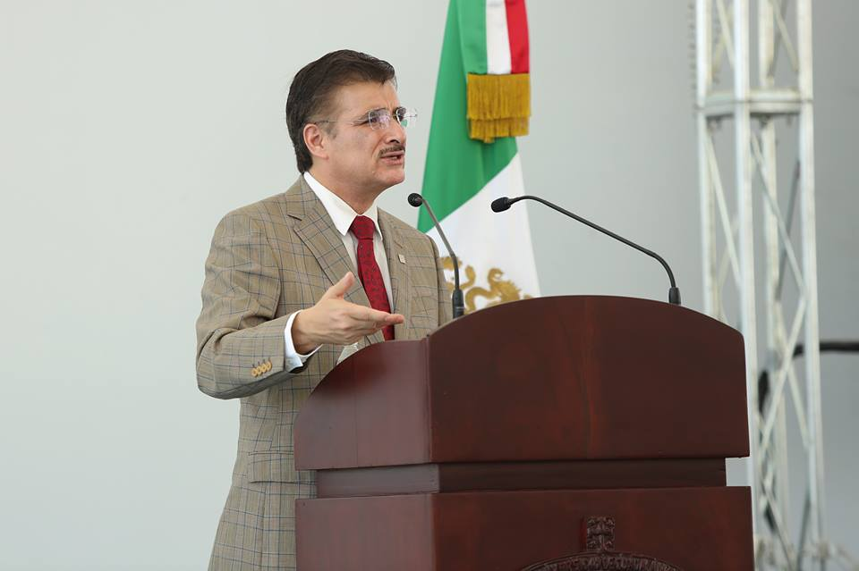 Tonatiuh Bravo Padilla, rector general de la Universidad de Guadalajara