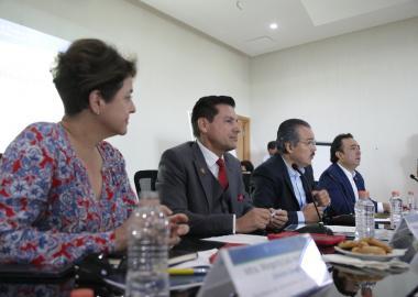 Representantes de la SICT, CEPE y CCIJ
