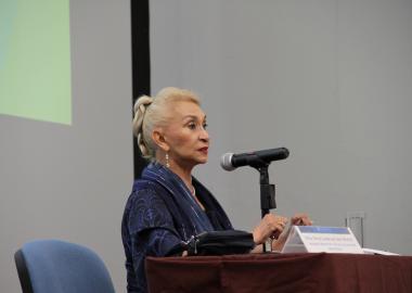 Alma Guadalupe Salas Montiel, directora del Instituto Jalisciense del Adulto Mayor