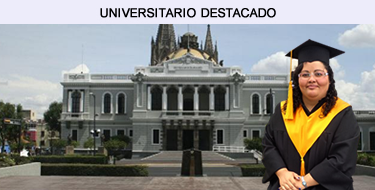 Universitario Destacado Marcela Rubio Miramontes