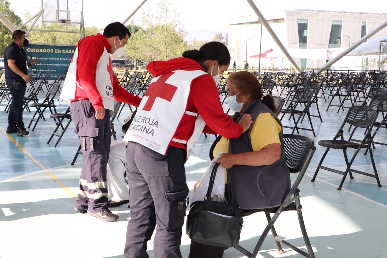 Apoyo de Cruz Roja Ameca